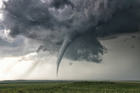 Tornado near Campo in Colorado