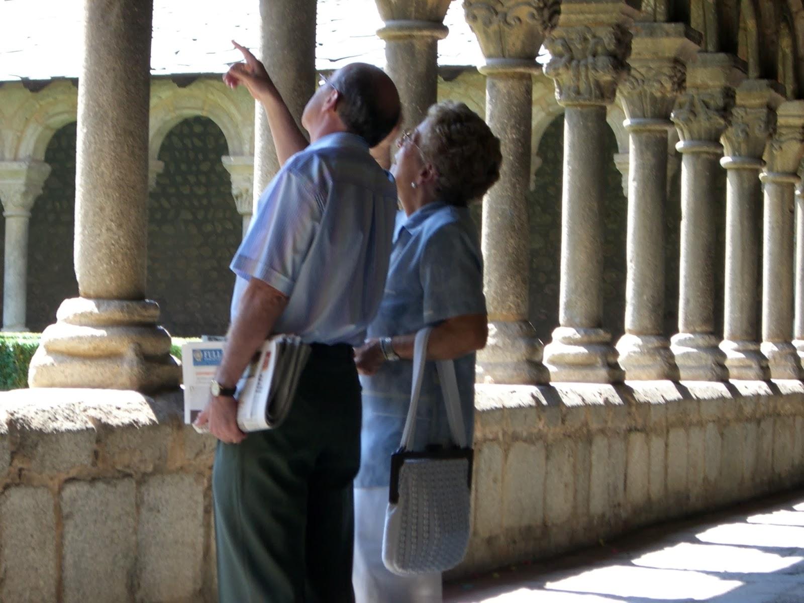Claustre de la Catedral de la Seu d'Urgell per Teresa Grau Ros
