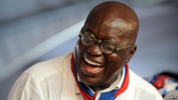 I'm not into politics for bribes - Akufo-Addo