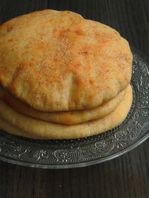 Egyptian Aish Baladi, Egyptian Pita