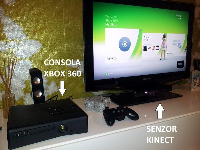 Cum e Xbox 360 Kinect