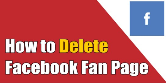 How to Delete Facebook Fan Page on Mobile