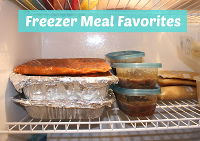List of Favorite Freezer Meal Recipes - www.sweetlittleonesblog.com