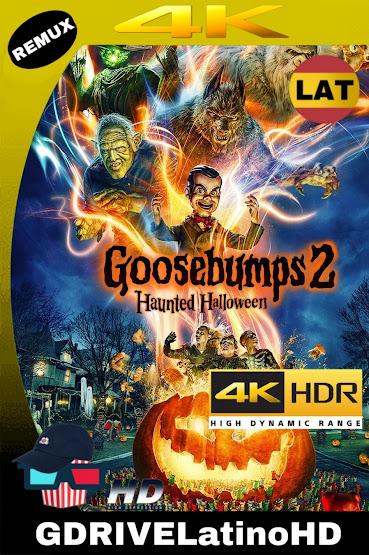 Escalofríos 2: Una Noche Embrujada (2018) BDRemux 2160P 4K HDR Latino-Ingles MKV