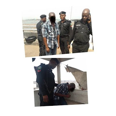Depression Is Real! Lagos Man Stopped From Jumping Into Lagoon