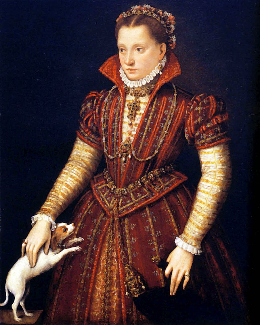 Portrait of A Noble Woman, Lavinia Fontana