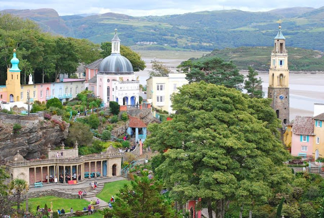 Portmeirion, Wales, UK