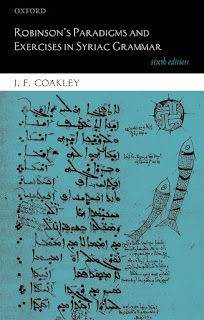 Robinson's Paradigms and Exercises in Syriac Grammar 6th Edition