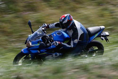 Suzuki GSX 250 R: The R utility