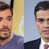 Garzón acusa a Sánchez de alentar el espíritu de las Azores que trajo la guerra