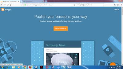 Cara Membuat Blog Gratis dan Mudah