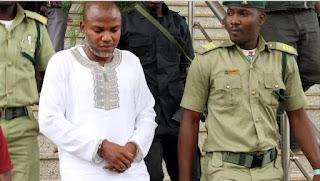 Kanu's kinsman asks court to order IPOB leader's arrest in UK