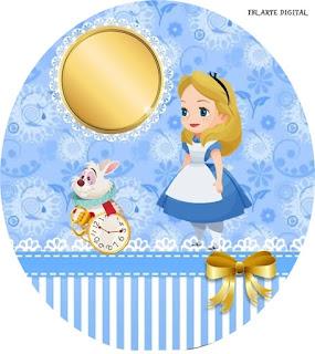 Alicia Bebé: Toppers y Wrappers para Cupcakes para Descargar Gratis.