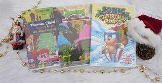 NCircle Entertainment Holiday Marathon ~ #Review #Giveaway #2017GiftGuide, Doozers: Giant Gingerbread House Sonic Christmas Blast Thomas Edison's Secret Lab: Twas the Night Before Liftoff