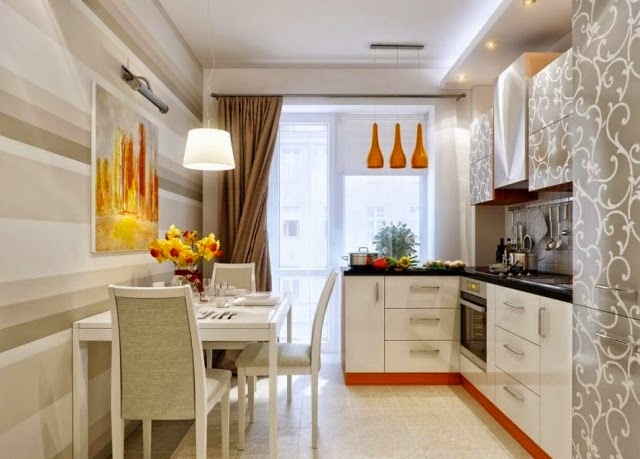 How to decorate a small kitchen with Fascinating ideas?