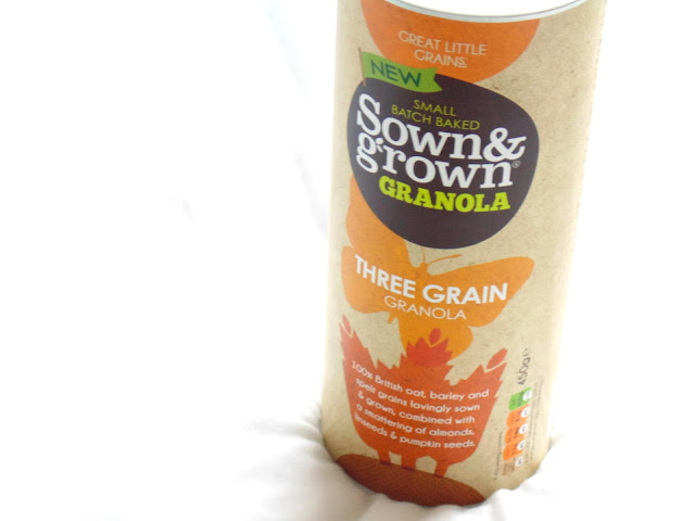 Sown & Grown Three Grain Granola