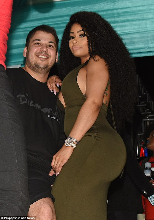 Rob Kardashian Appears Slimmed Down and Loved Up With New Girlfriend Blac Chyna           |            The Beauty Dial