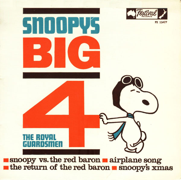snoopy versus the red baronthe return of the red baronairplane songsnoopys christmas the royal guardsmen