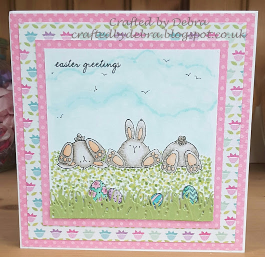 Bunny Wobbles Easter cards