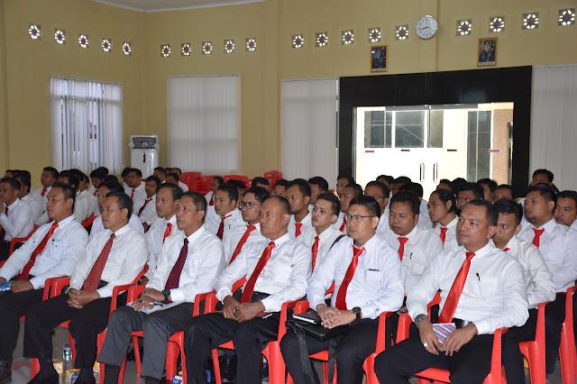 Tingkatkan Kemampuan Personil Reskrim, Polres Muba Adakan Coaching Clinic