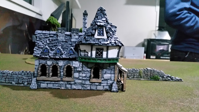 It is a photo of Printable Terrain intended for d&d