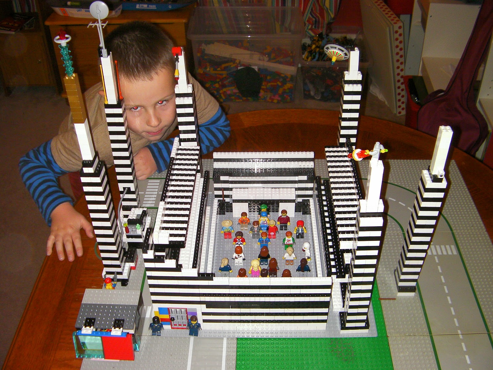 lego st james' park football stadium