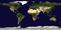 immagine mappamondo schiacciato