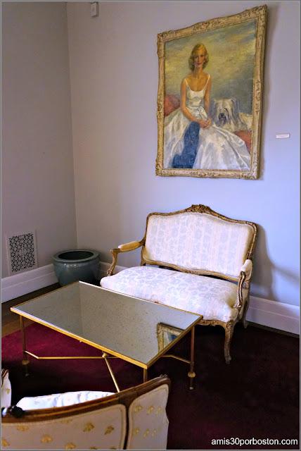 Salita de la Suite de los Novios de la Mansión Rosecliff, Newport