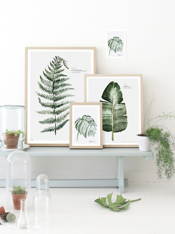 Monday inspiration - botanical vibe for children's room