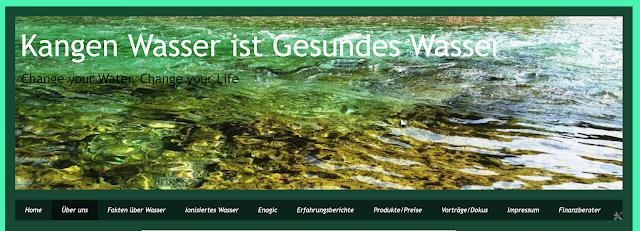 Kangen Wasser - Blog
