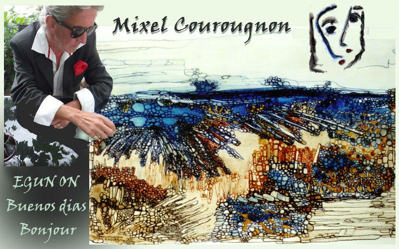 Mixel Courougnon Artiste Peintre Auteur