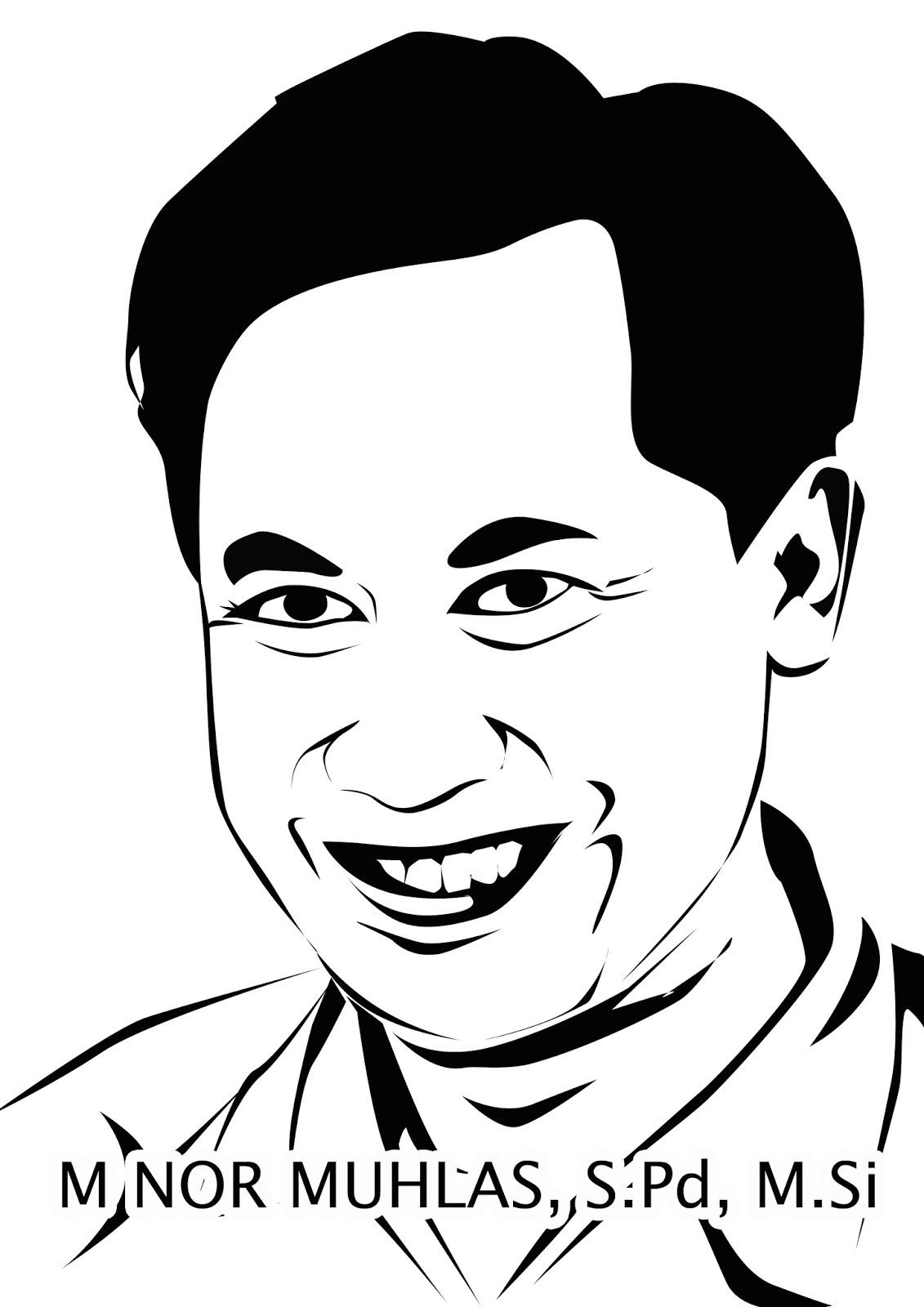 Line Art Wajah : Line art wajah belajar desain otodidak