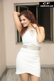 Saloni In White dress photos