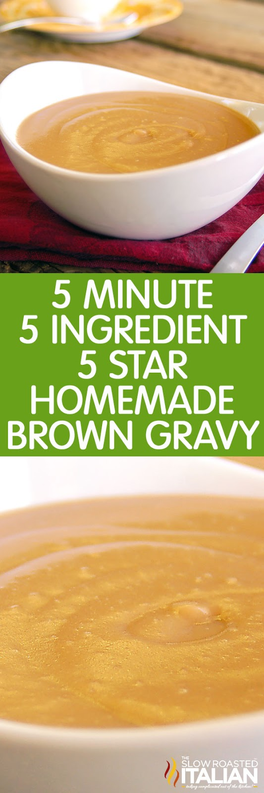 Brown Gravy Recipe So Easy Video