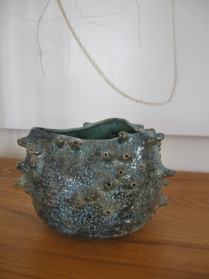 ceramic pot, Anita Singh, barnacle