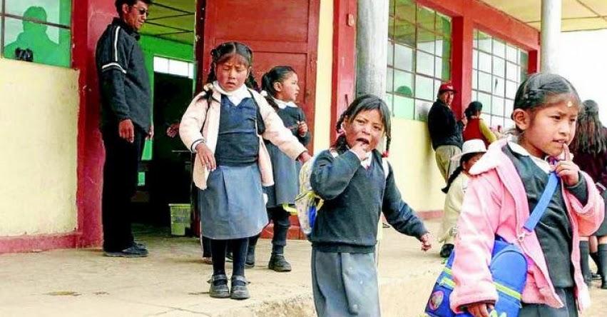 Más de 300 mil estudiantes regresan a clases el 11 de marzo en la región Puno
