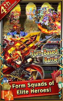 Brave Frontier MOD APK For Android v1.9.11 (Global) Update Terbaru