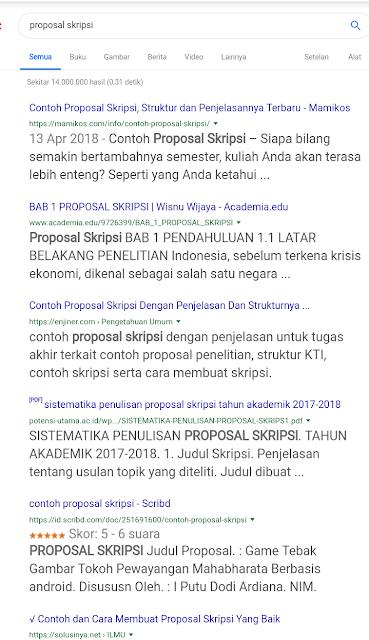 Proposal skripsi File pencarian