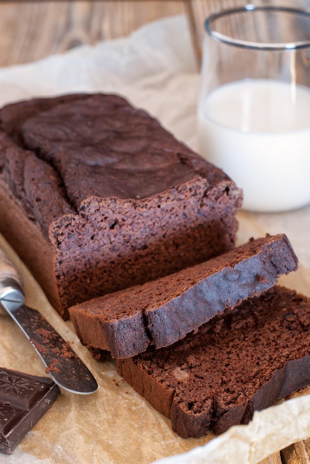 Ciasto czekoladowe z bananami i fasolą