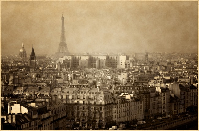 Vintage Paris, France