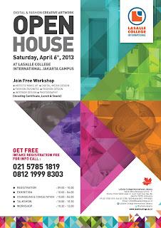 Open House 6 April 2013 LaSalle College International Jakarta