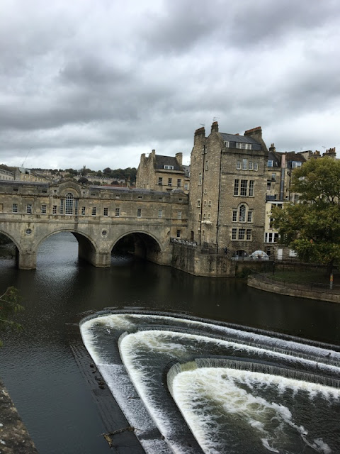 historic stone bridge across the River Avon