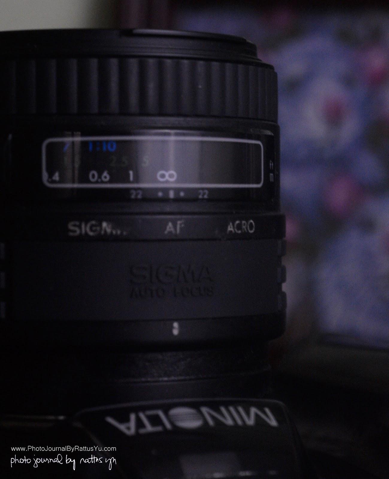 Sigma AF 50mm f/2.8 Macro (Minolta/Sony A Mount)