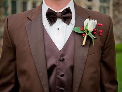 Lapela de flores masculino para casamento