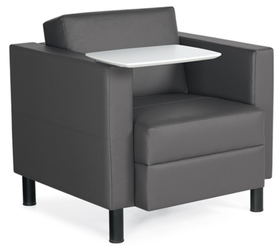 Global Citi Lounge Chair with Tablet