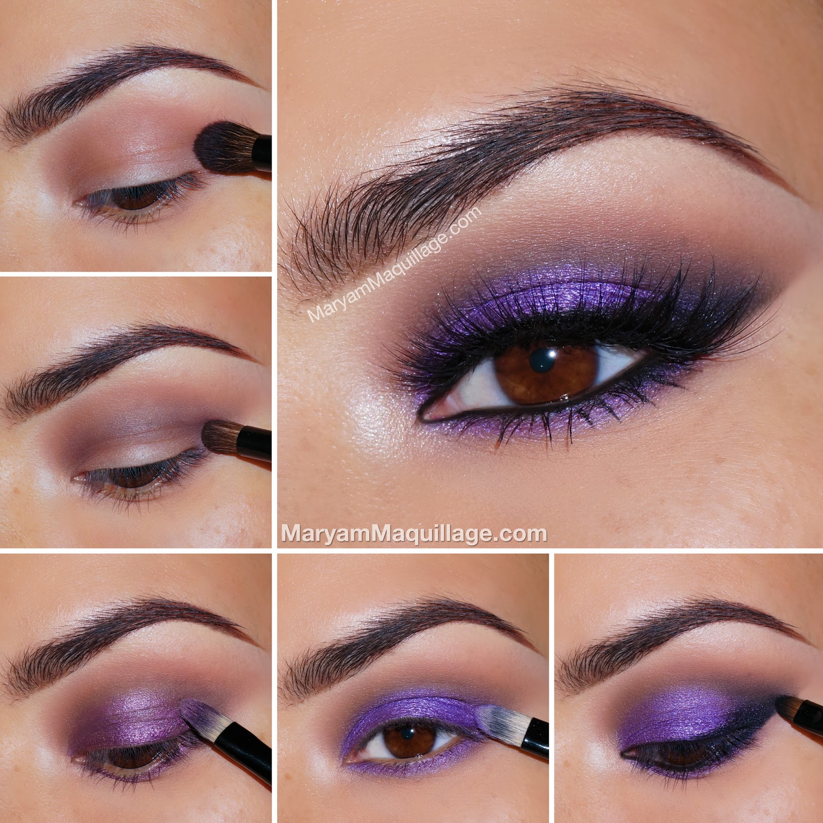 "Maryam Maquillage: ""Smokey Purple, Pink & Nude"" Summer Look"