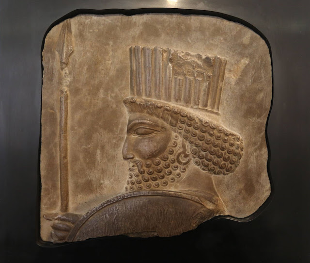 Stolen ancient bas-relief returns to Iran museum