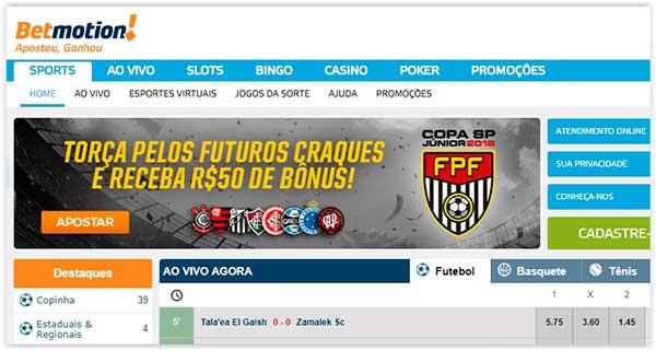 site de apostas esportivas Betmotion