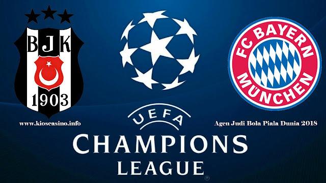 Prediksi Liga Champions Besiktas vs Bayern Munchen 15 Maret 2018