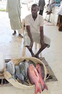 Fish catch in Ethiopia